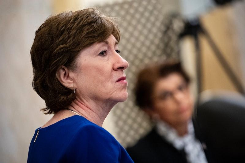 Sen. Susan Collins is defending her Main seat.