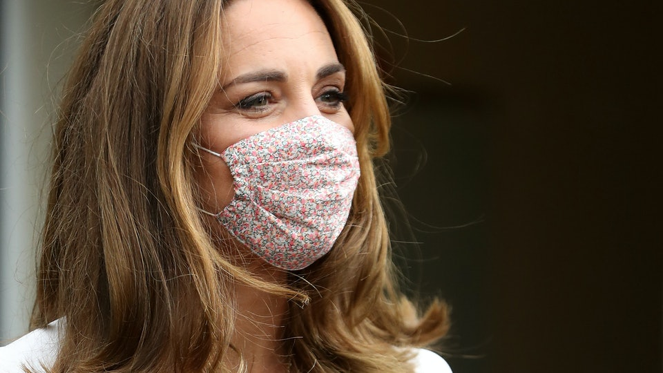 Kate Middleton wore a face mask during a recent royal visit.