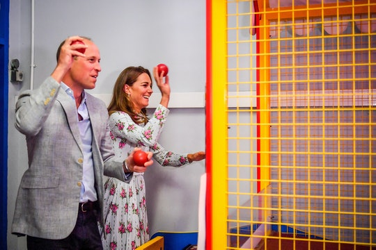 Kate Middleton and Prince William enjoyed a little arcade PDA.