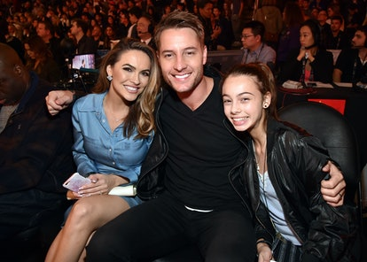 Chrishell Stause revealed she wrote a goodbye letter to Justin Hartley's daughter after their split.