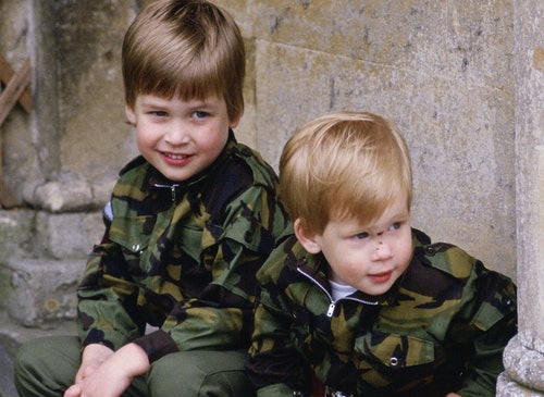 Prince William and Prince Harry were the cutest.