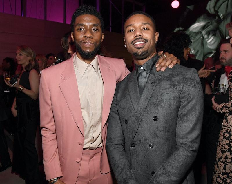 Michael B. Jordan's Tribute To Chadwick Boseman Is Fit For A King