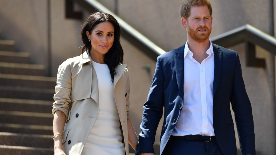 Meghan Markle and Prince Harry plant forget-me-nots with kids to honor Princess Diana.