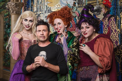 Adults can wear Halloween costumes at Disney World.