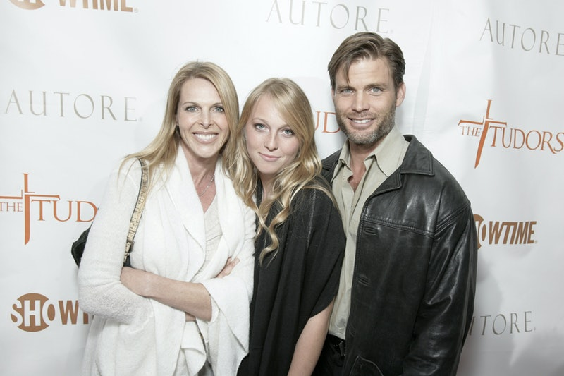Former NXIVM member India Oxenberg and her family.