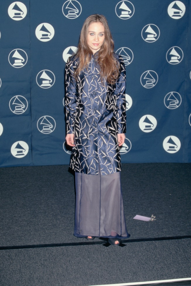 Fiona Apple at the 1997 Grammys.