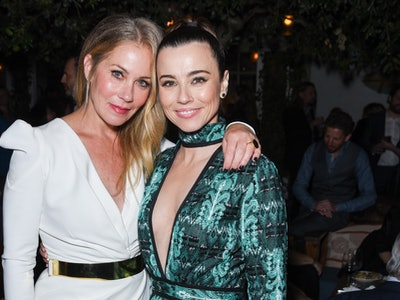 Linda Cardellini and Christina Applegate star in the Emmy nominated series, 'Dead To Me.'
