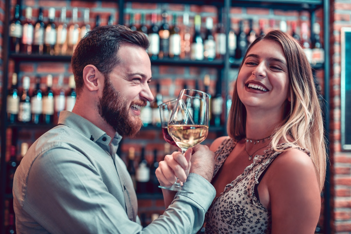 Instagram captions for drinks with your partner are oh so witty.