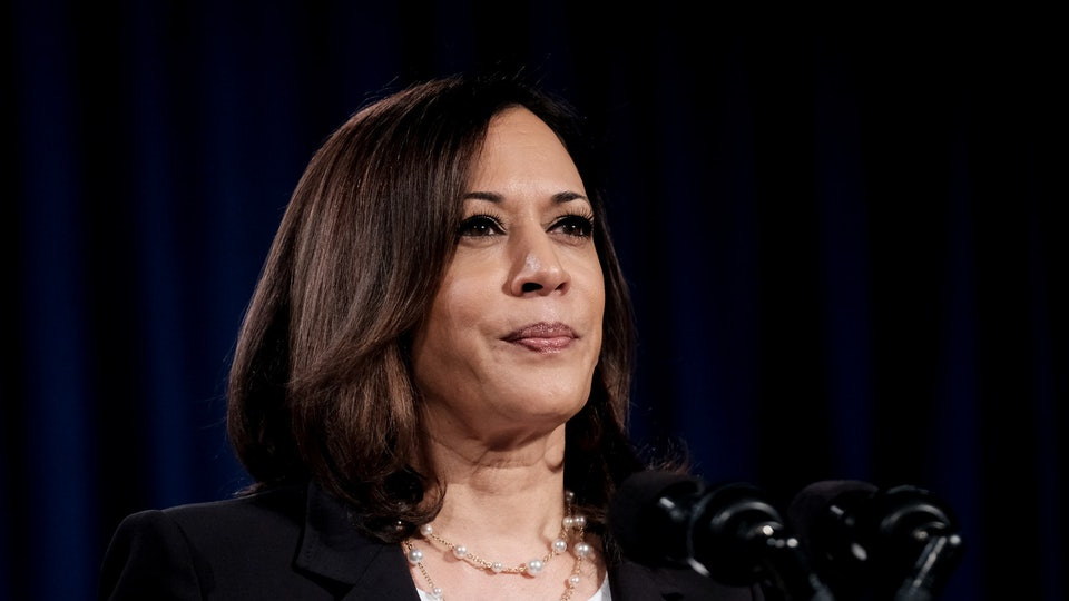 Kamala Harris remembers her grandparents on Grandparents Day, citing their passion for democracy for fueling her own interest in public service.