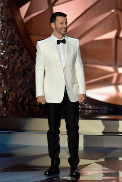 Jimmy Kimmel will remotely host the Emmys Awards this year