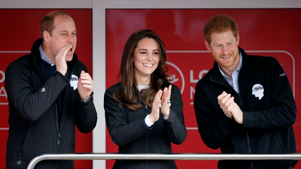 """The Duke and Duchess of Cambridge wished Prince Harry a """"happy birthday."""""""