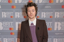 Harry Styles' hair may be darker.