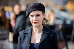 Rachel Brosnahan may play a mom on screen, but kids aren't a part of her life
