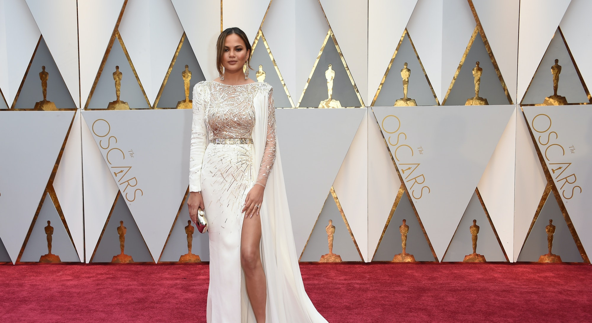 Chrissy Teigen's Best Red Carpet Looks
