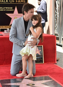 Jason Bateman has two daughters with wife Amanda Anka