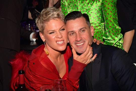 Pink waxed poetic about her marriage to Carey Hart.