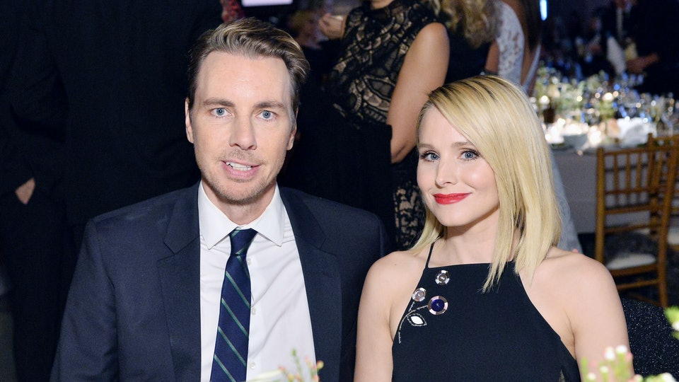 Kristen Bell's daughters drank O'Douls during class.