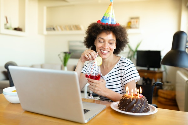 You can invite guests to your online party using Zoom Rooms.
