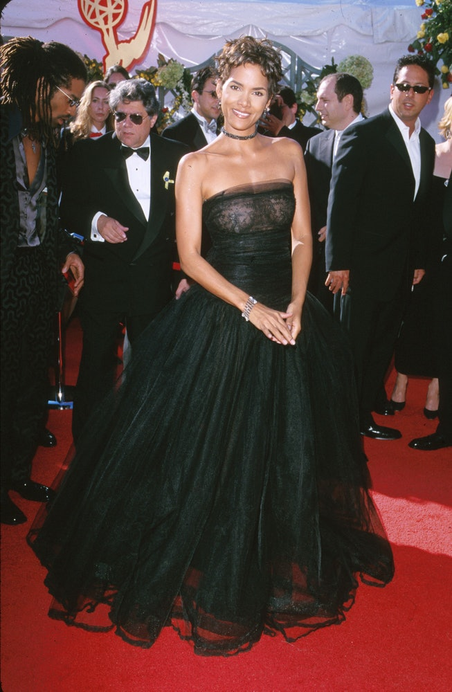 Halle Berry at the 2000 Emmys.