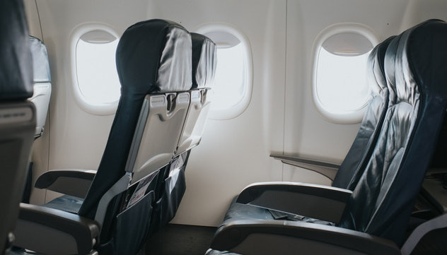 wipe down surfaces on the airplane
