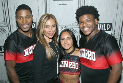 Jerry Harris with 'Cheer' cast