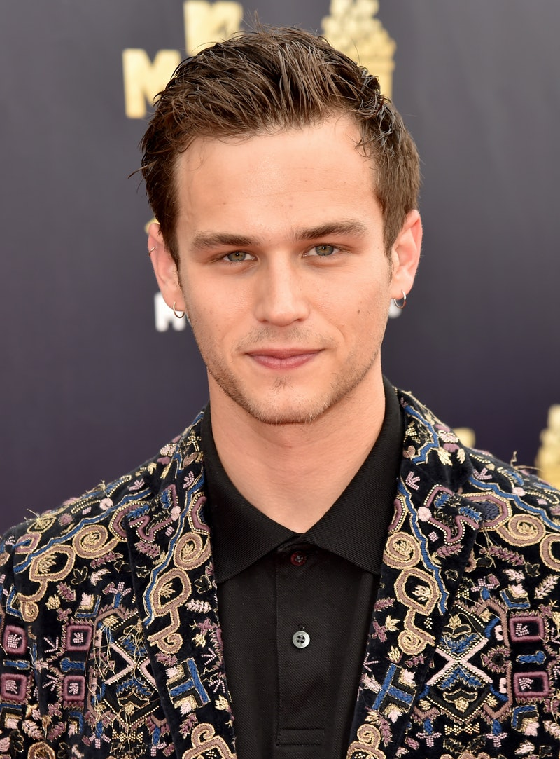 Actor Brandon Flynn, who appears in 'Ratched' and '13 Reasons Why'