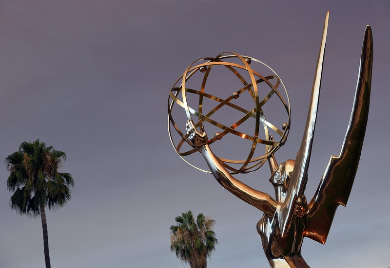 The 2020 Emmys figurine