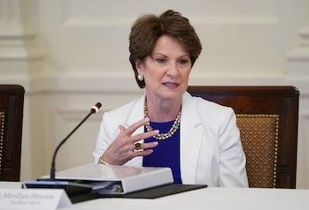 Lockheed Martin's CEO, Marillyn Hewson.
