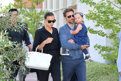 Bradley Cooper says that he is playing pre-school teacher to his daughter amid the pandemic.