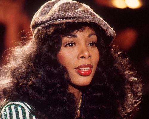 Donna Summer's thick, voluminous waves were iconic.