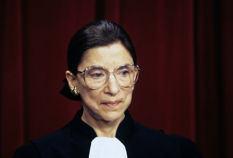 Ruth Bader Ginsburg, in court. Here are 6 of her biggest decisions on reproductive rights SCOTUS cases.