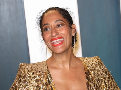 Tracee Ellis Ross dressed up for her at-home Emmys experience