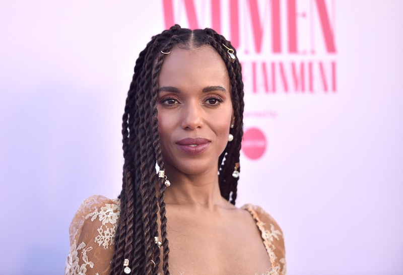 Kerry Washington's gorgeous 2020 Emmy Nails were made to match her outfit.