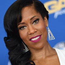 Regina King posing on the red carpet