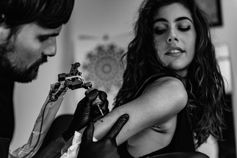 Micro tattoos are a major body art trend.