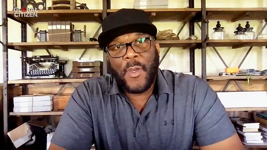 Tyler Perry opened up about his grandmother during his Emmy speech on Sunday.
