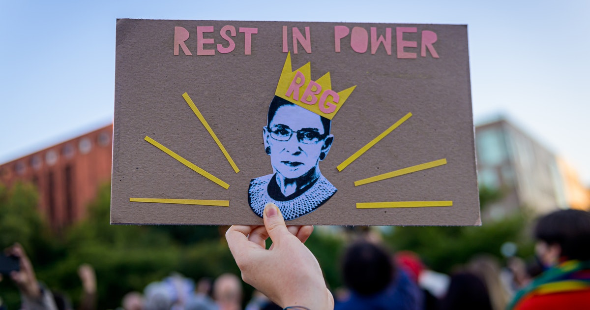 5 Ways To Take Action In Honor Of Ruth Bader Ginsburg This Week