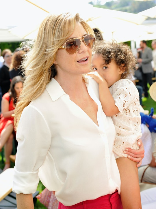In a new interview with Bustle, actor Ellen Pompeo shares why she's voting with her kids beside her ...