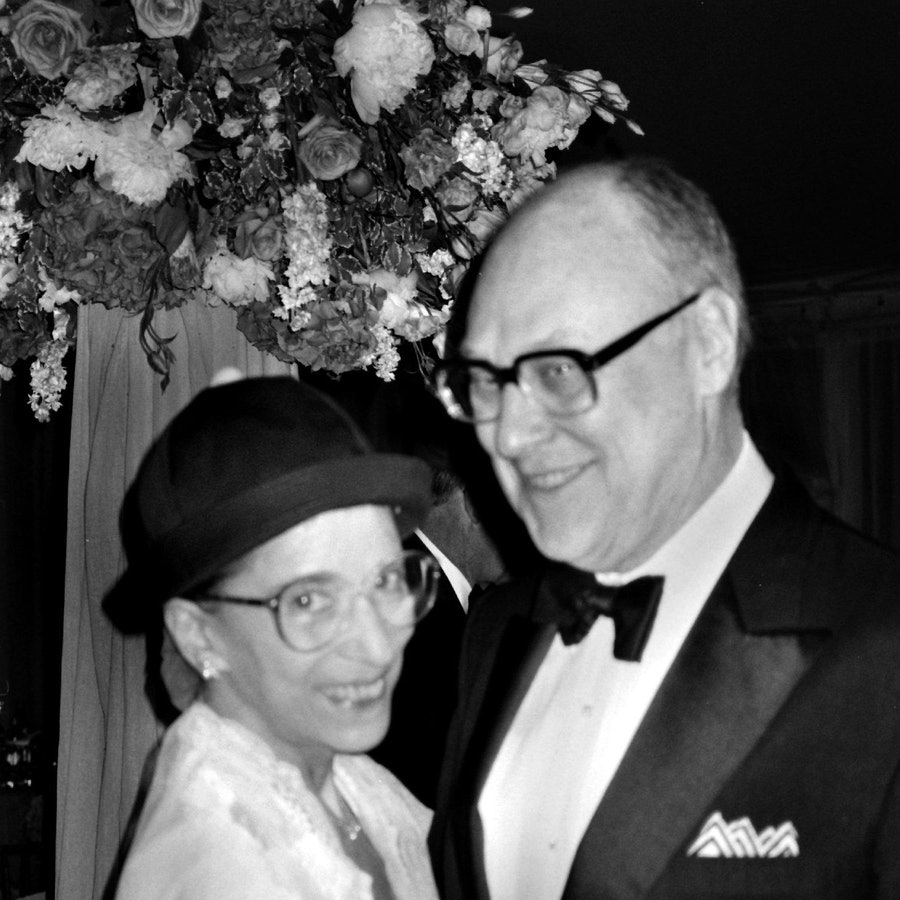 Ruth and Marty Ginsburg's love story is progressive.
