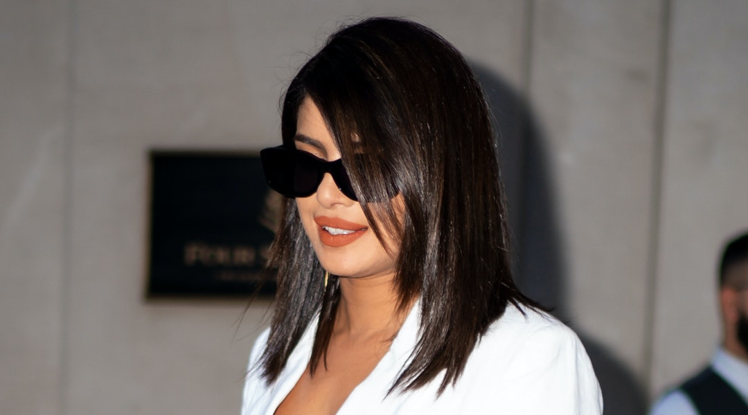 Priyanka Chopra always knows how to rock an orange lipstick.