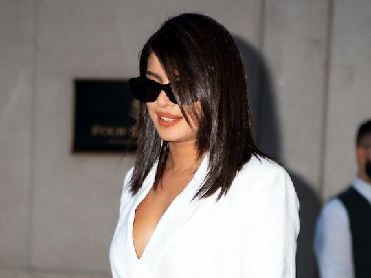 Priyanka Chopra always knows how to rock an orange lipstick.