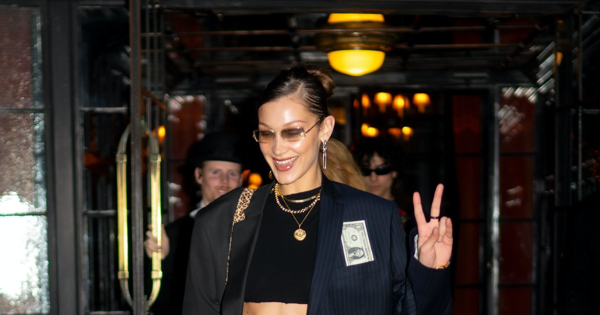 This Is The Bella Hadid Way To Wear A Sweater Vest
