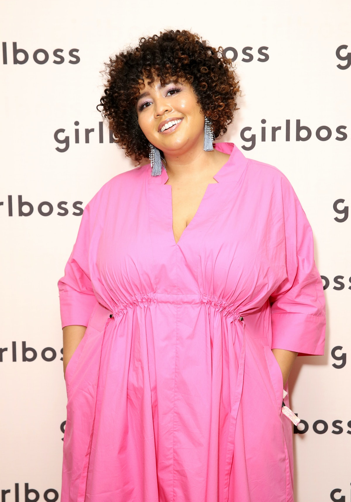 Gabi Gregg attends an event for Girl Boss.