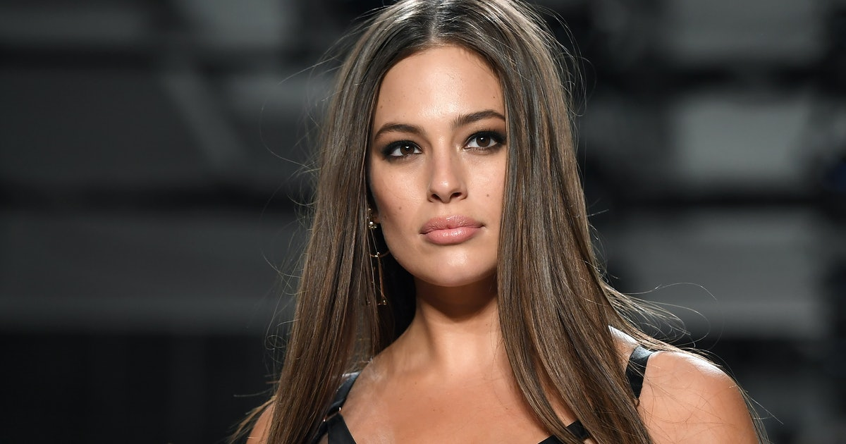 Ashley Graham Makes Her Grand Return To The Runway In A Sheer Dress