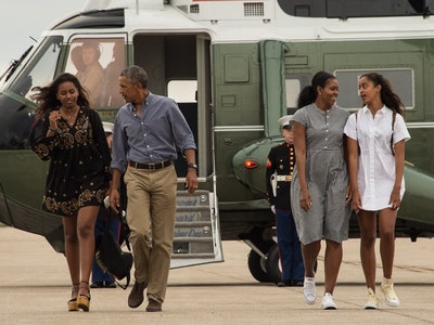 After months of quarantine, the Obama kids are sick of their parents, former First Lady Michelle Obama told talk-show host Conan O'Brien in a recent virtual interview.