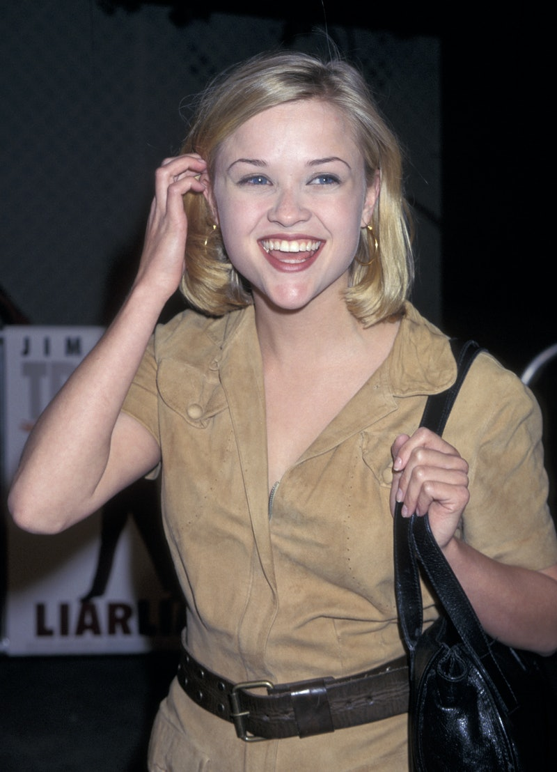 Reese Witherspoon's chic '90s bob was worked into many different styles.