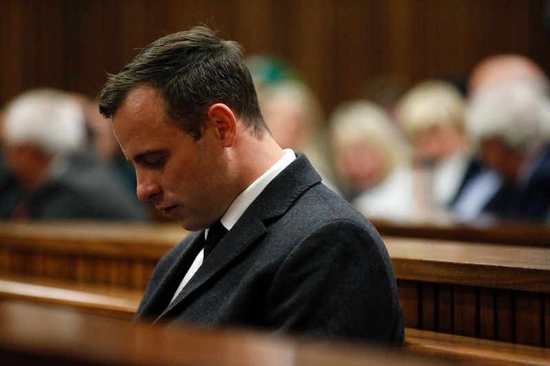 Oscar Pistorius in court for homicide trial 2014