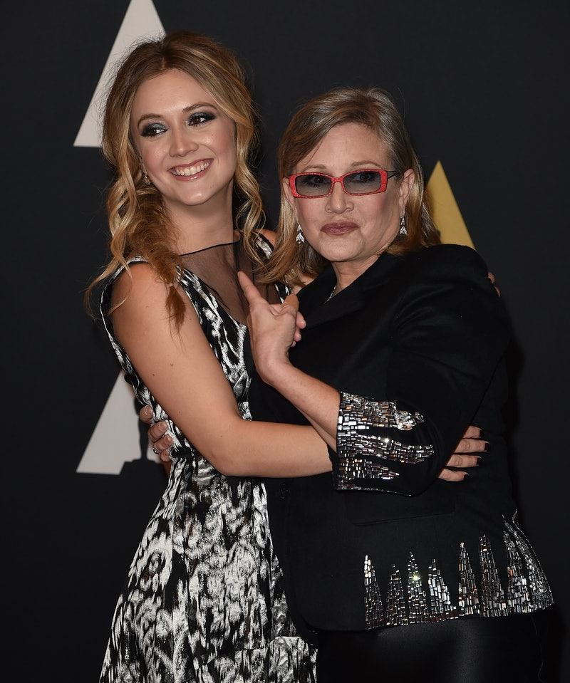 Billie Lourd's Baby Name Honors Her Mother, Carrie Fisher