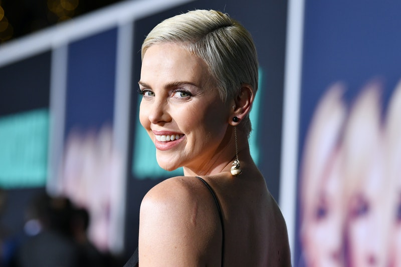Charlize Theron's super-short crop is a masterclass in how to style a pixie cut