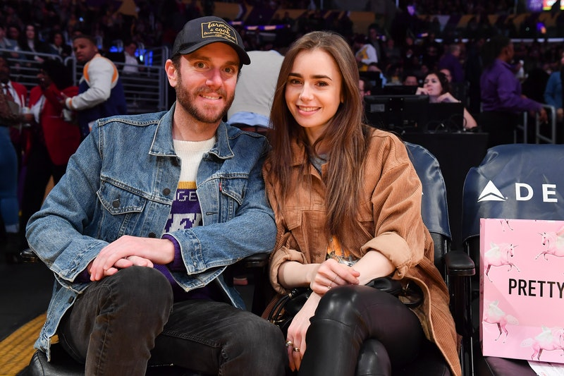 Lily Collins is engaged to director Charlie McDonnell